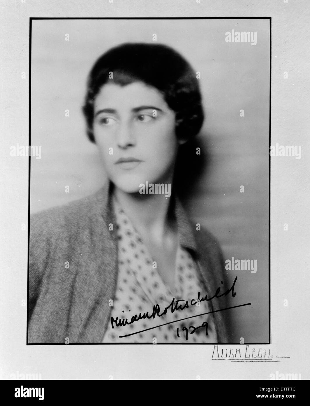Miriam Rothschild (1908-2005) Stock Photo