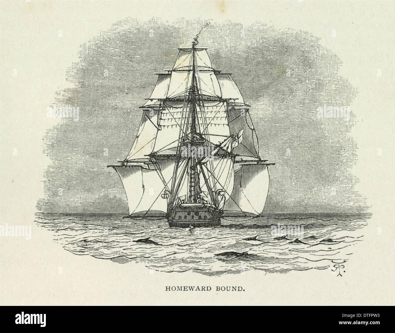 'Homeward Bound' - Stock Image