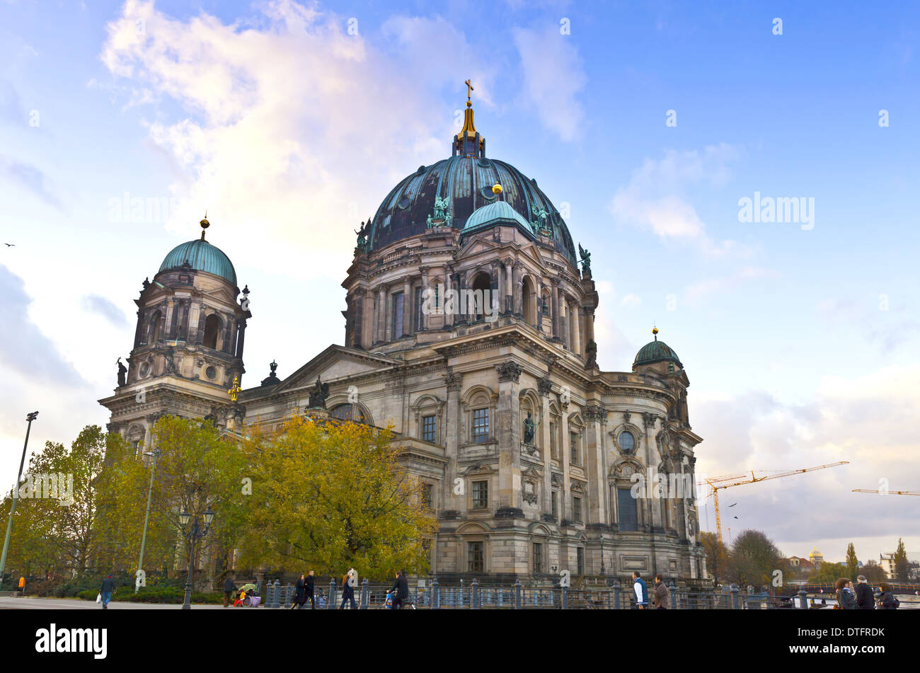 Description: Famous building of Berlin Cathedral (Berliner Dom), Berlin, Germany. - Stock Image