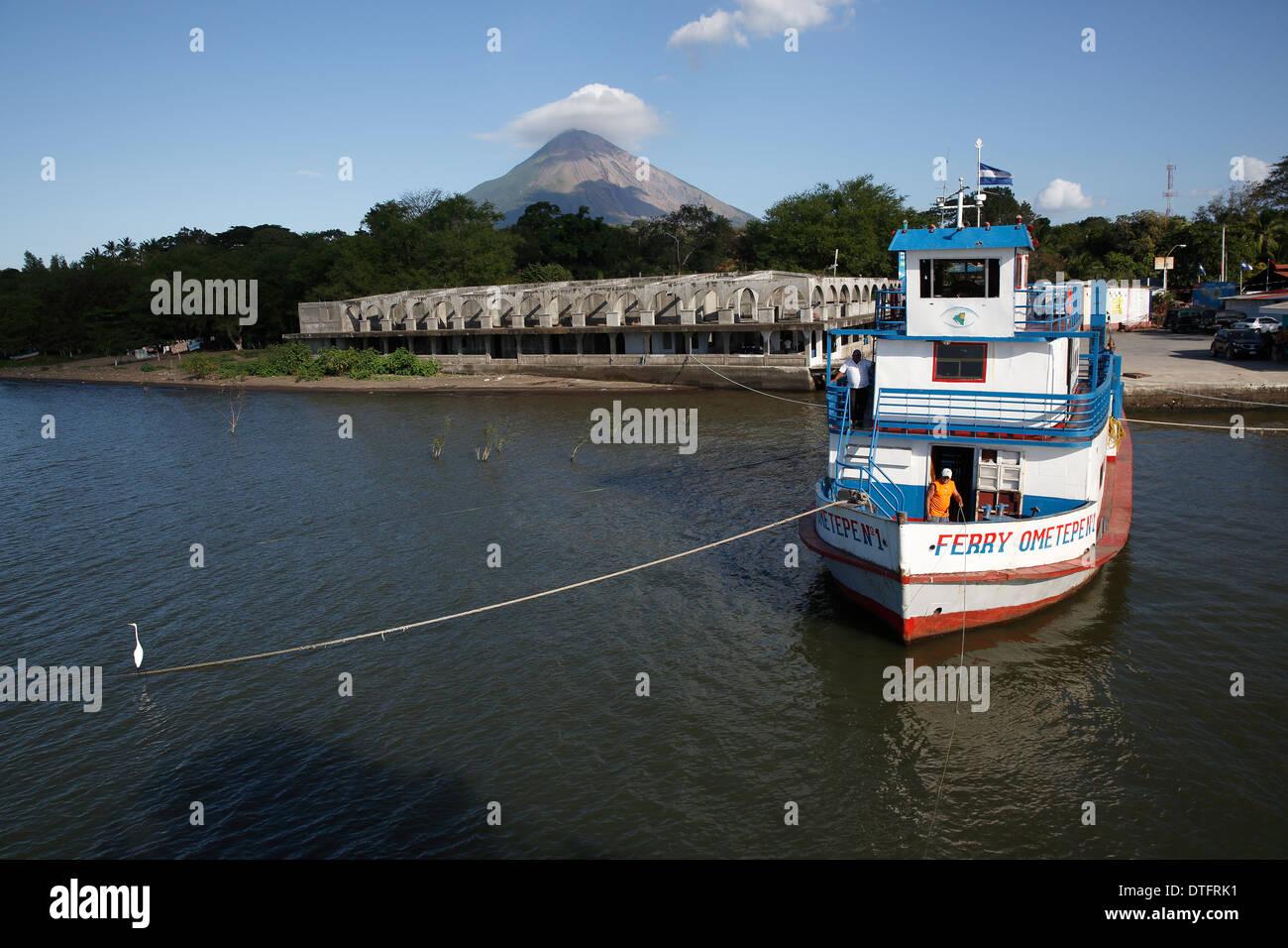 Moyogalpa Nicaragua Stock Photo