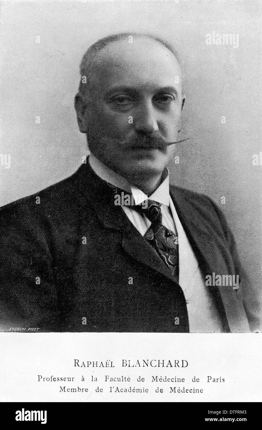 Raphael Blanchard (1857-1919) - Stock Image