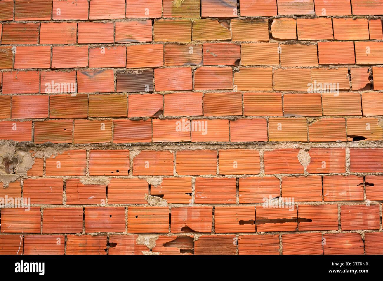 red bricks - Stock Image