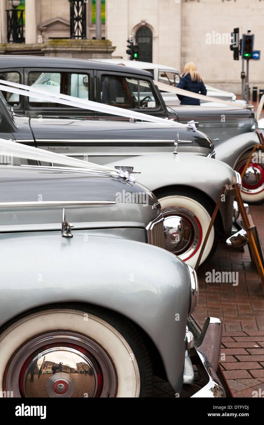 Wedding Car 1950s Stock Photos Wedding Car 1950s Stock Images Alamy