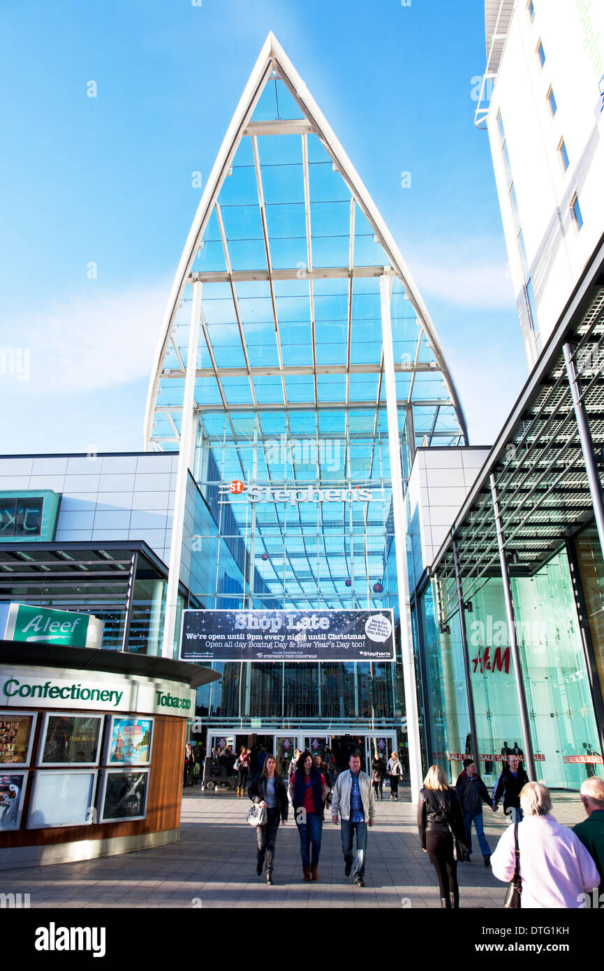 St Stephen s shopping centre front entrance Kingston Upon hull East Riding  city centre 4880f79cc32