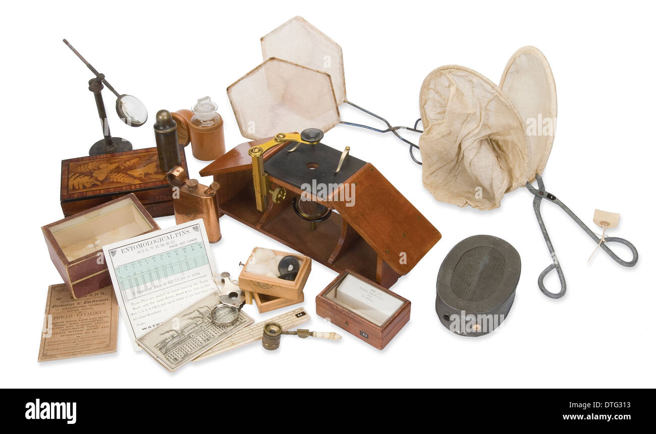 The Chalmers-Hunt Collection - Stock Image