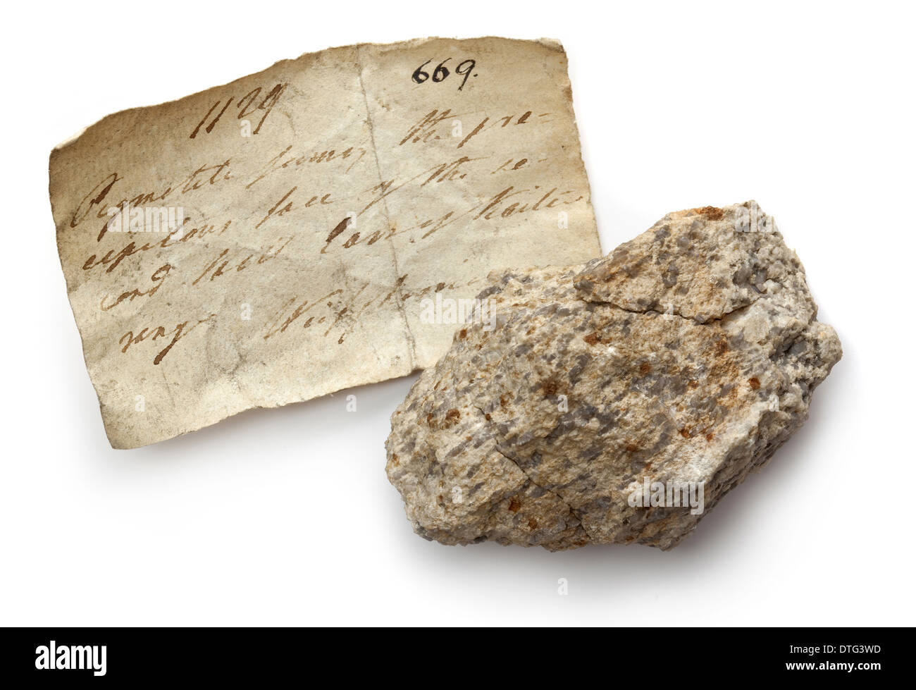 Granite - Stock Image