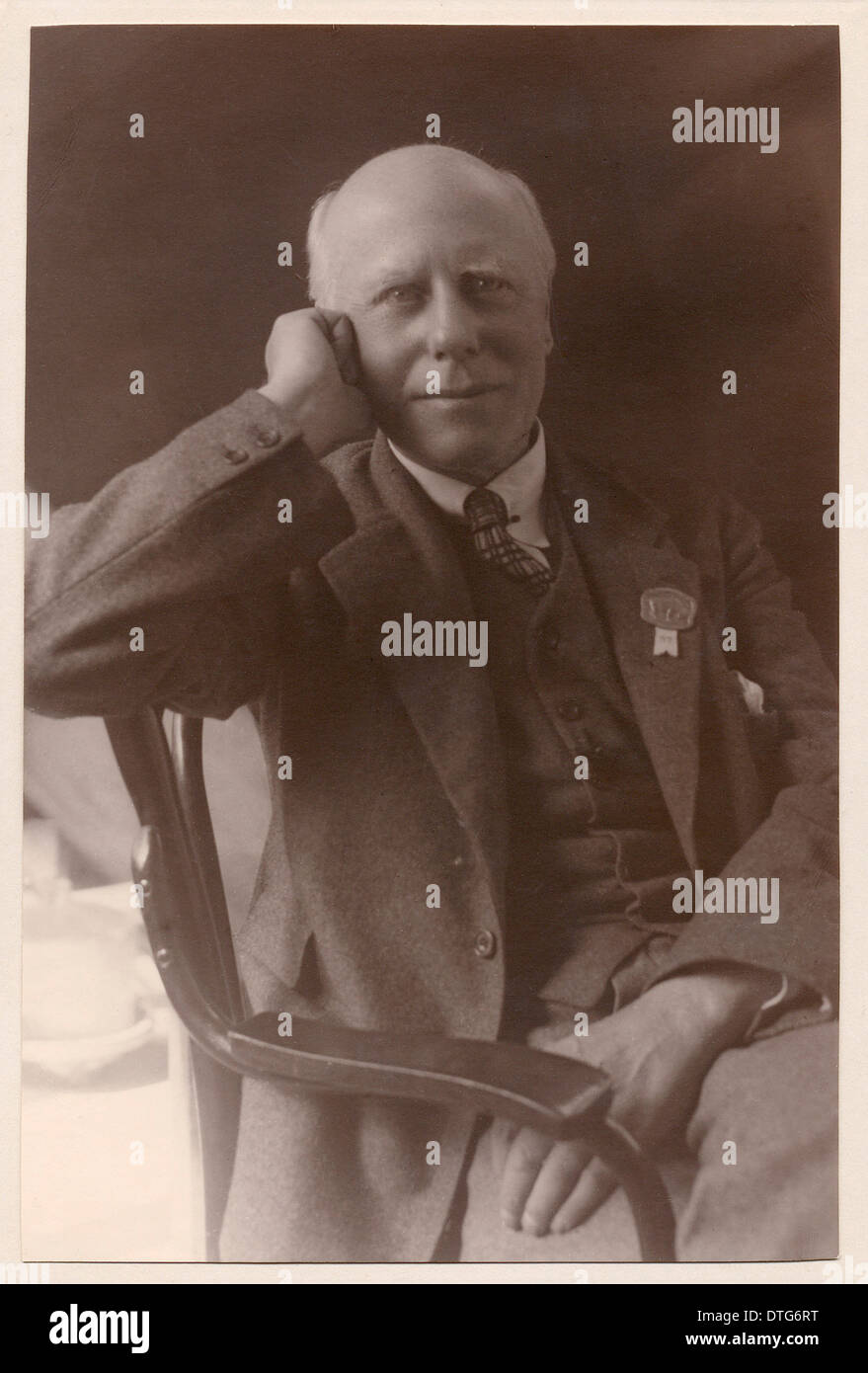 Francis Arthur Bather (1863-1934) - Stock Image