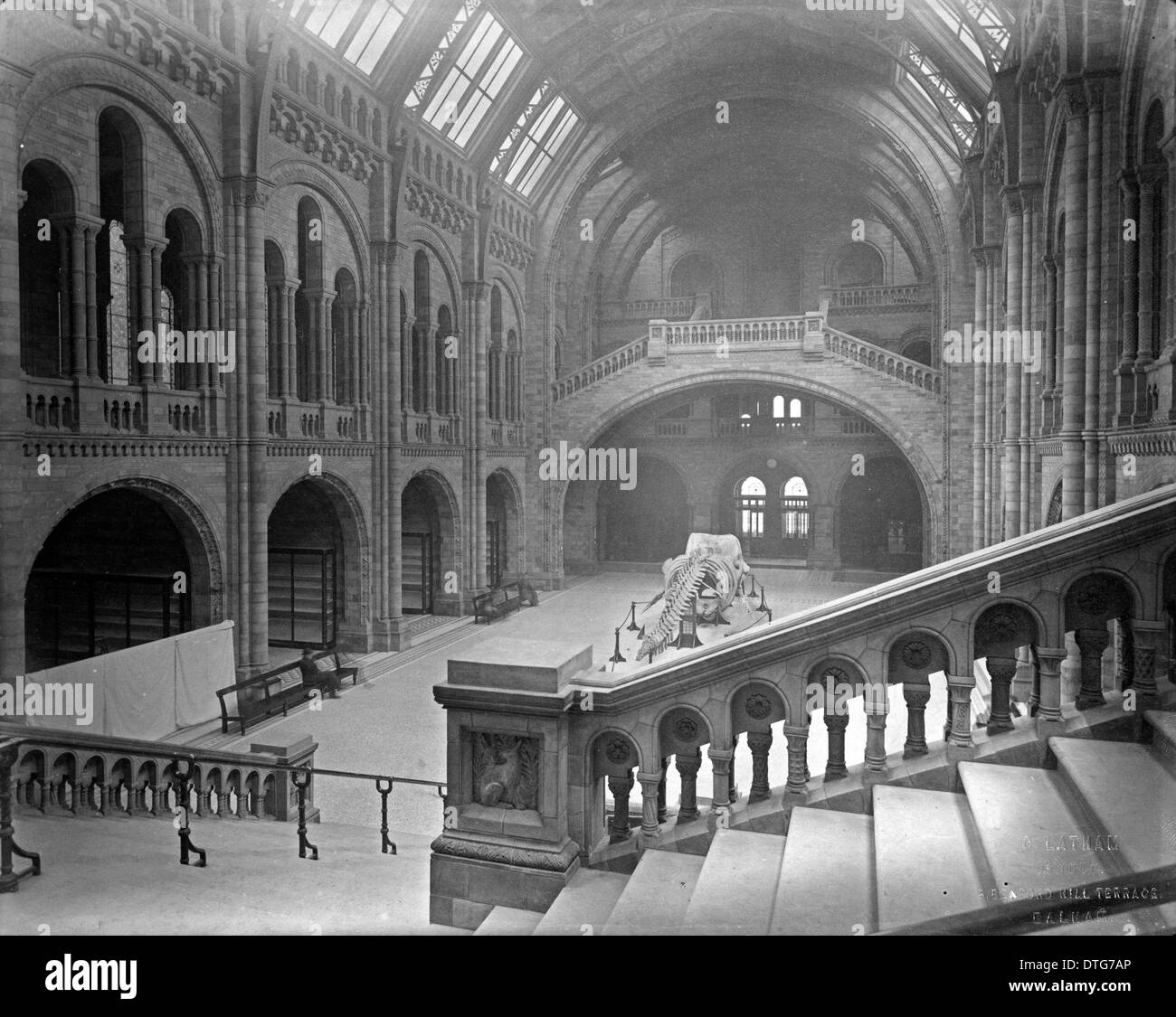 Central Hall. 1882 - Stock Image
