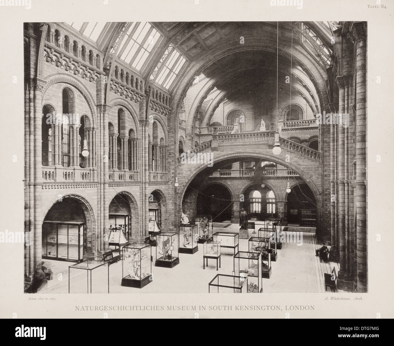 Central Hall. 25th August 1902 - Stock Image