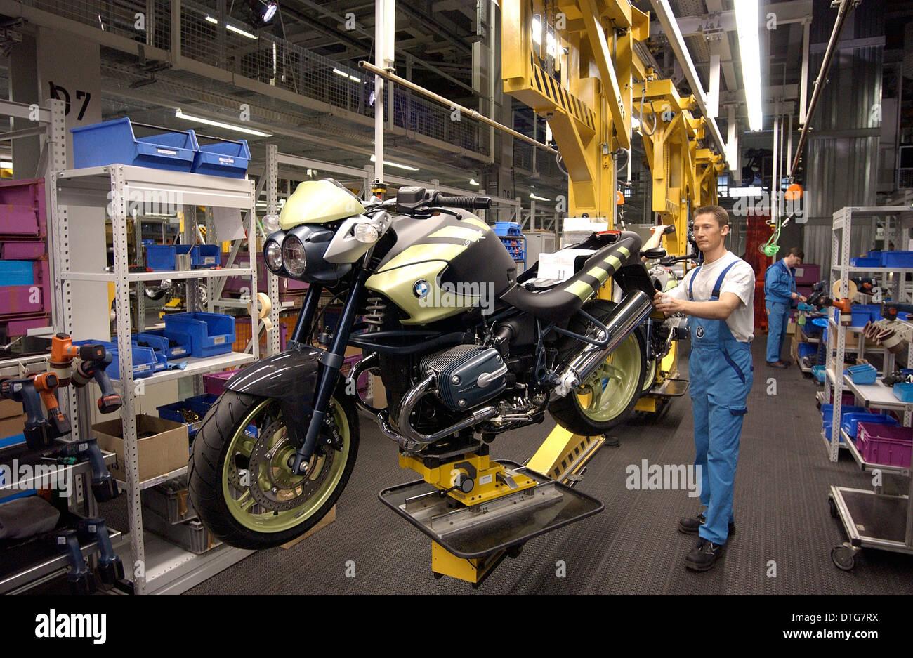 BMW Motorrad factory Stock Photo: 66740238 - Alamy