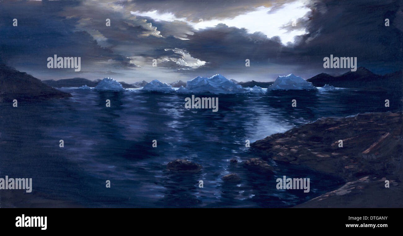 Proterozoic Ice Age - Stock Image
