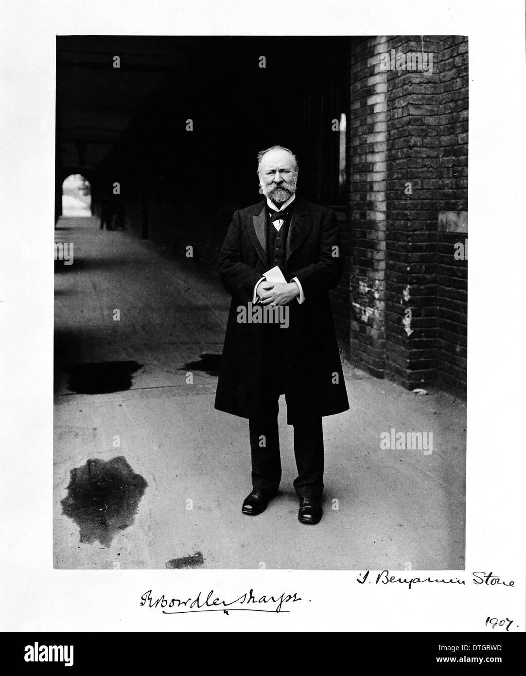 Richard Bowdler Sharpe (1847-1909) - Stock Image