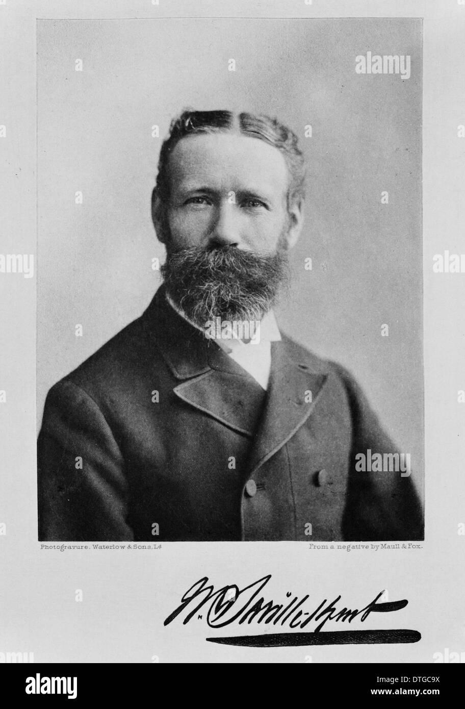 Mr William Saville Kent (1834-1910) - Stock Image