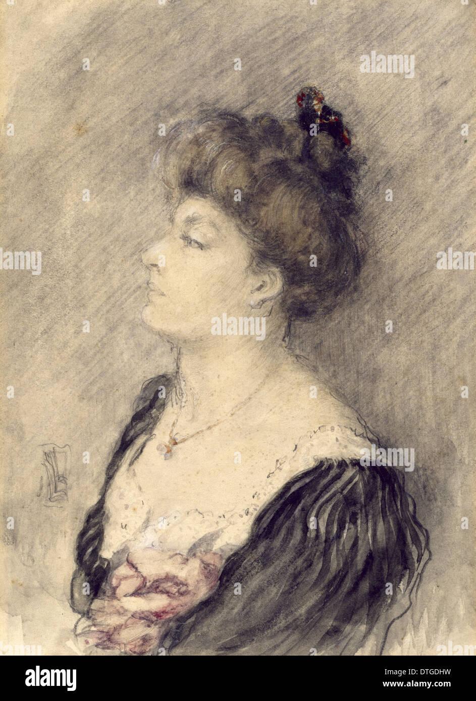 Dorothea Minola Alice Bate (1879-1951) - Stock Image