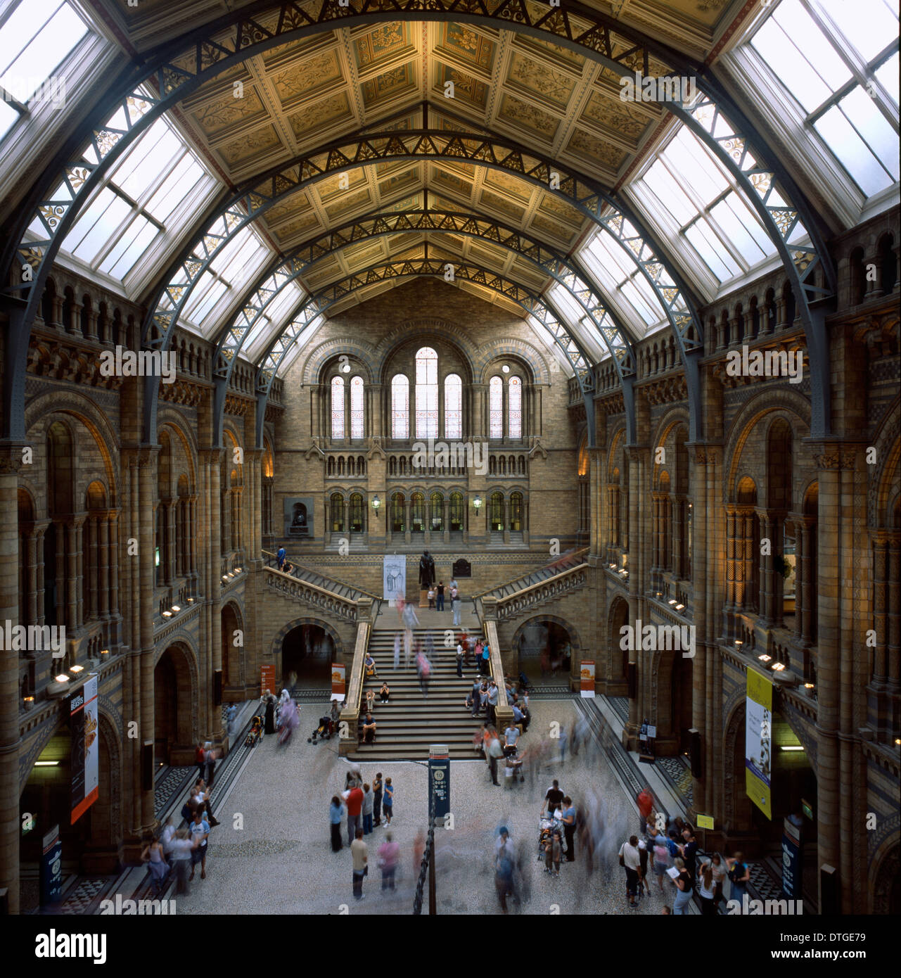 The Natural History Museum Stock Photo