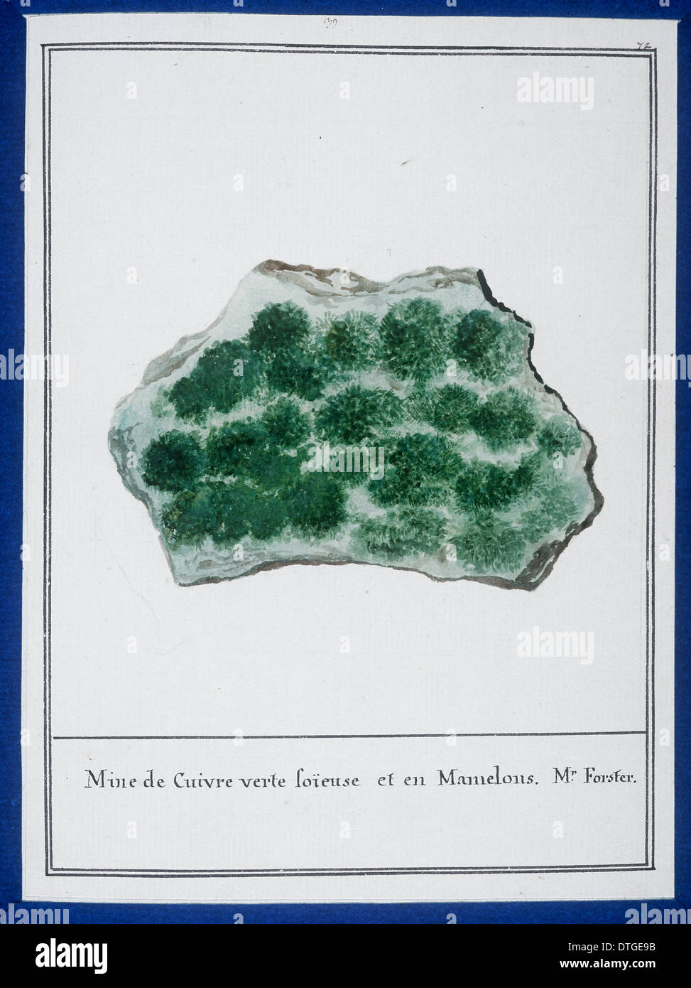 Plate 35 from Mineralogie by Swebach Desfontaines - Stock Image