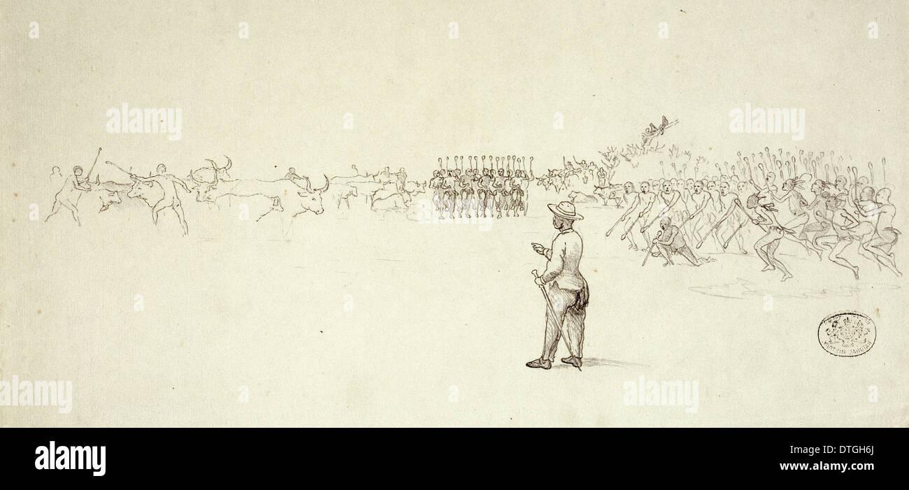 Lo Bengulu King of Matabeleland - Stock Image