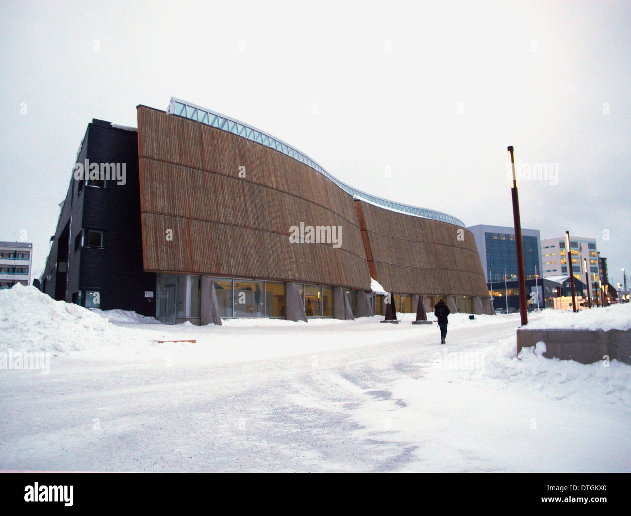Nuuk cultural Center - Stock Image