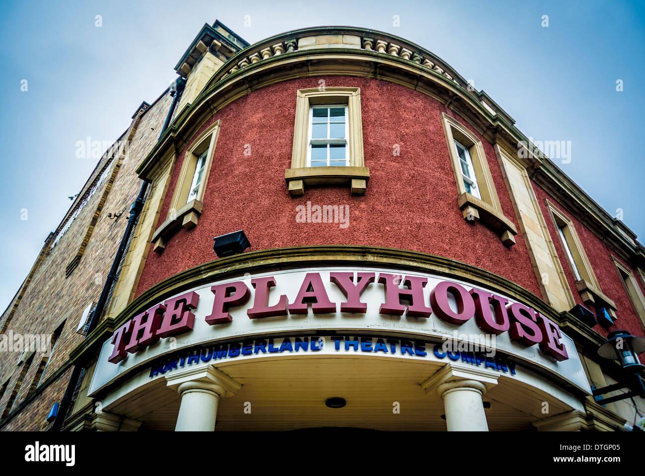 The Playhouse Theatre, Alnwick, Northumberland, UK. - Stock Image