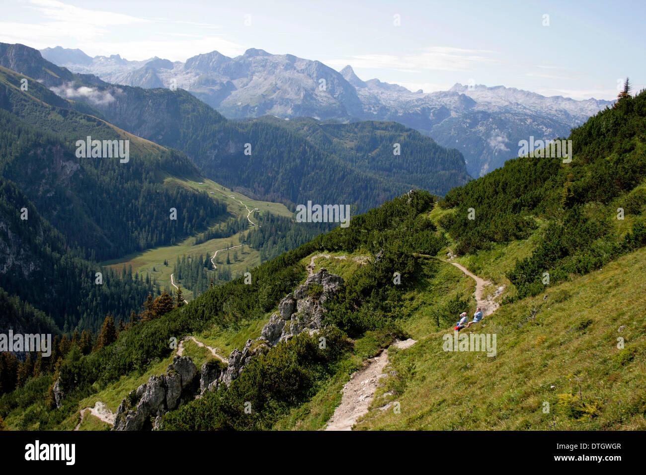 Bavaria - Berchtesgaden Land - Stock Image