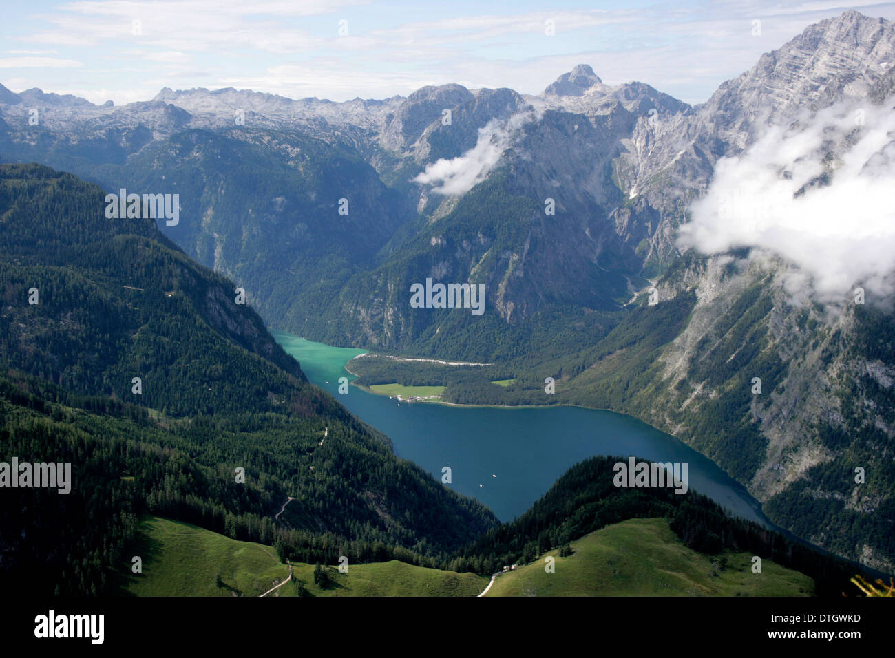 Bavaria - Berchtesgaden - Königssee - Stock Image