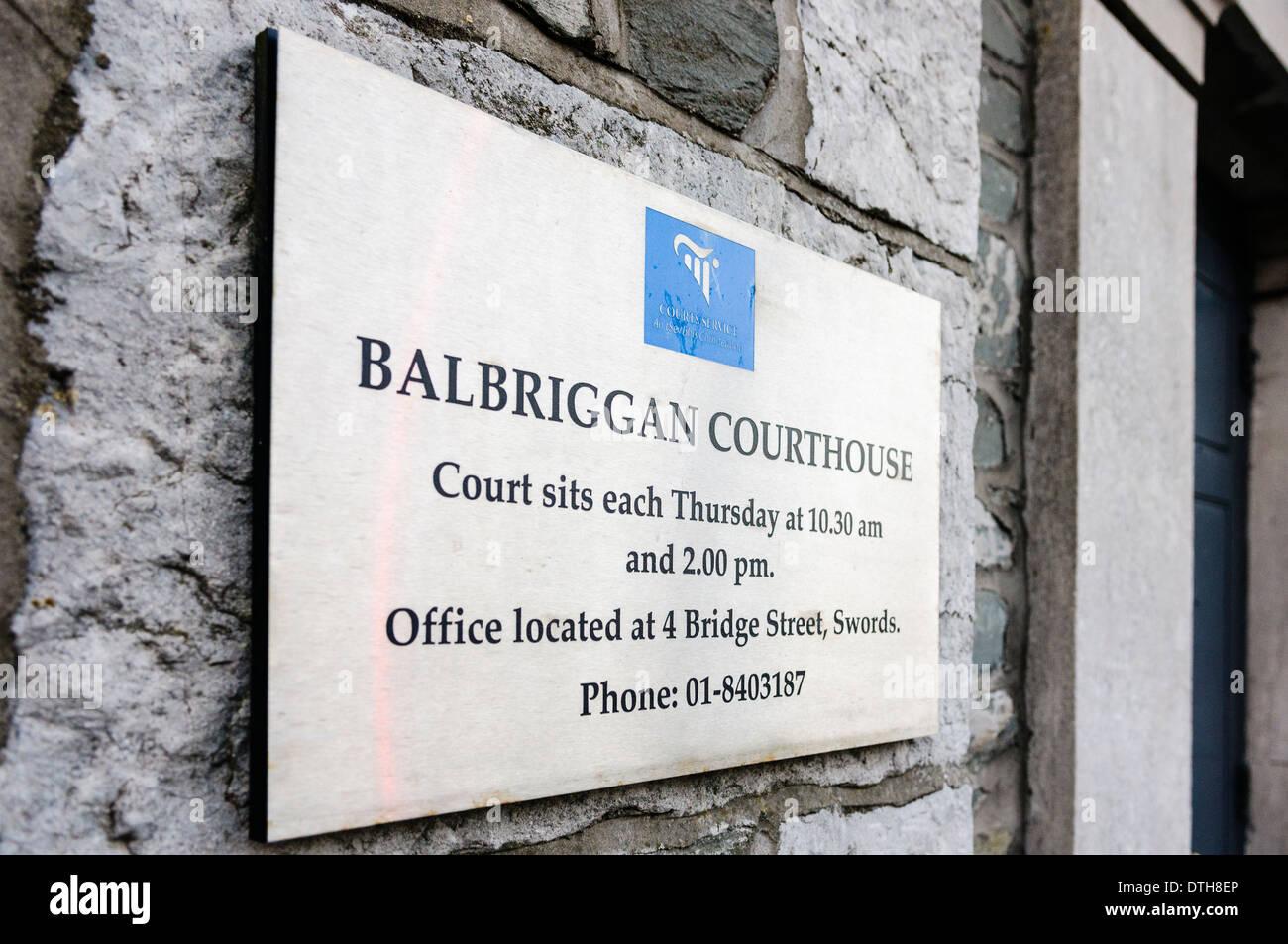 Balbriggan Courthouse - Stock Image