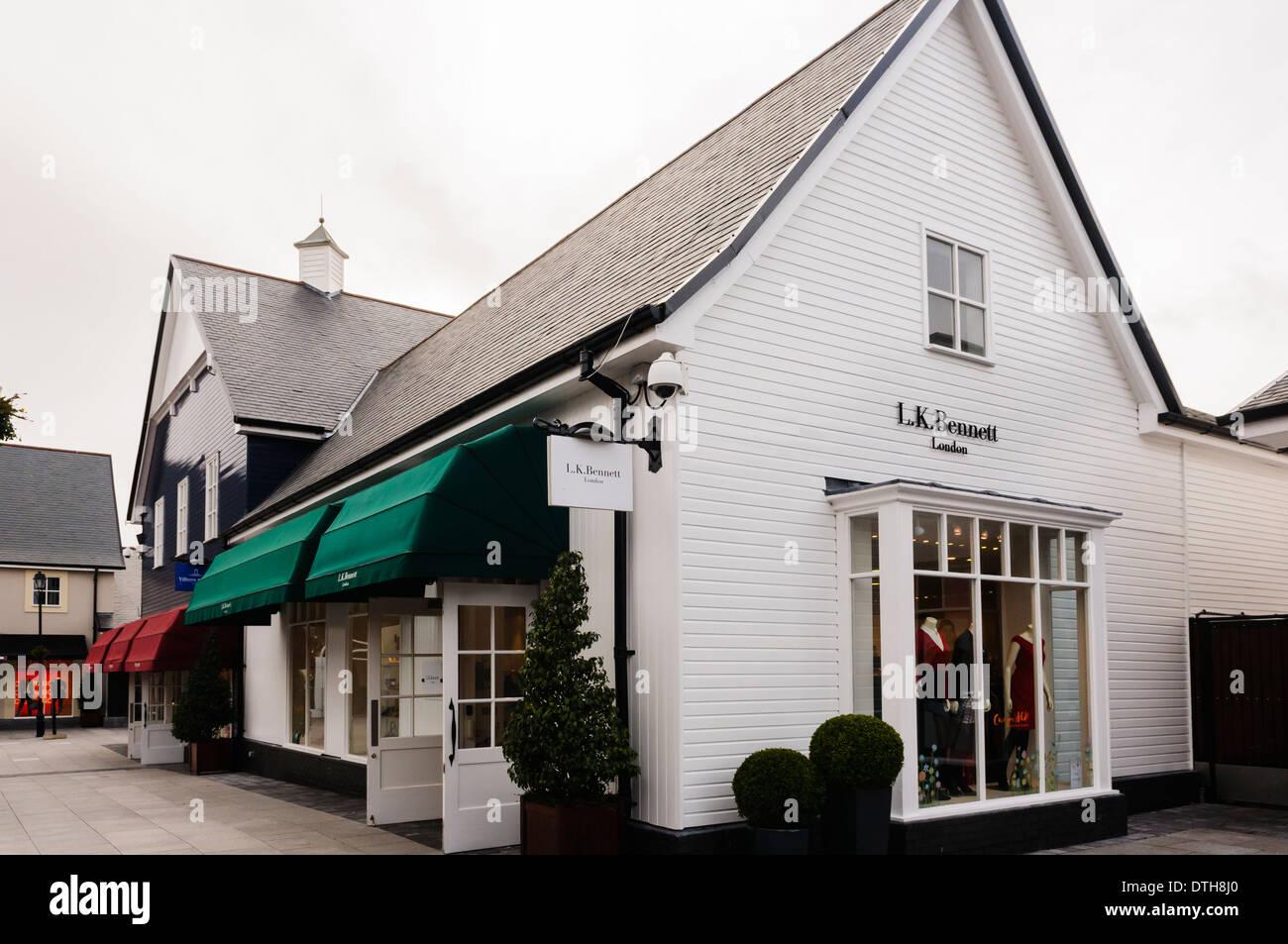 LK Bennett shop at Kildare Outlet Village - Stock Image