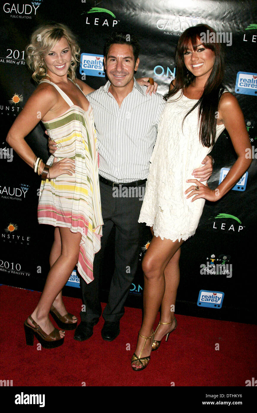 Lucy Rendler-Kaplan with Todd Michael Krim and Ashley Bent - Stock Image