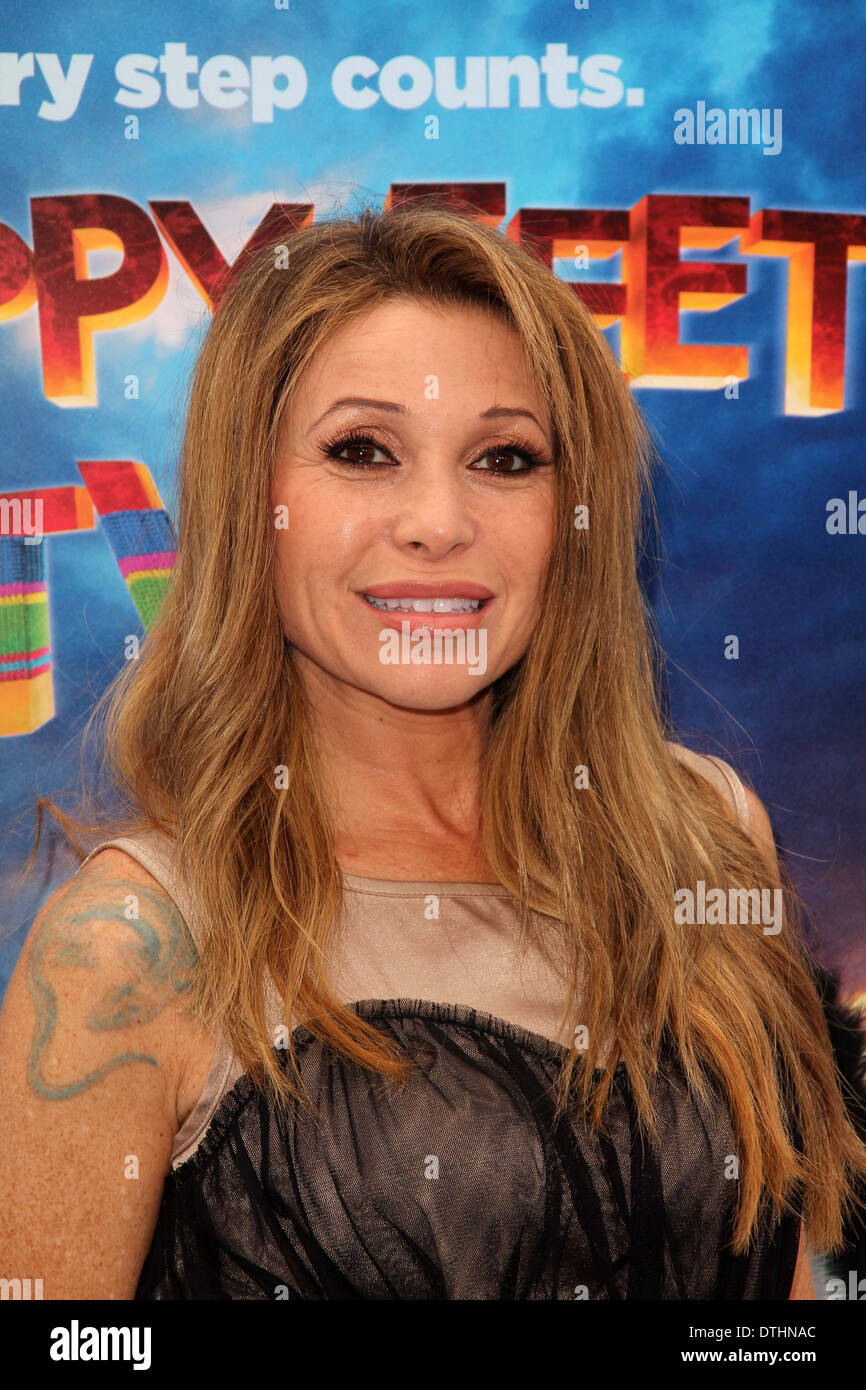 E.G. Daily at the 'Happy Feet Two' World Premiere, Chinese Theater, Hollywood, CA 11-13-11 - Stock Image