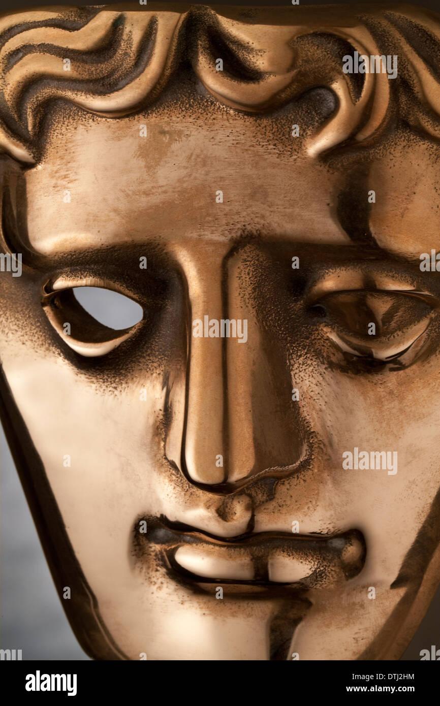 Bafta Statue award - Stock Image