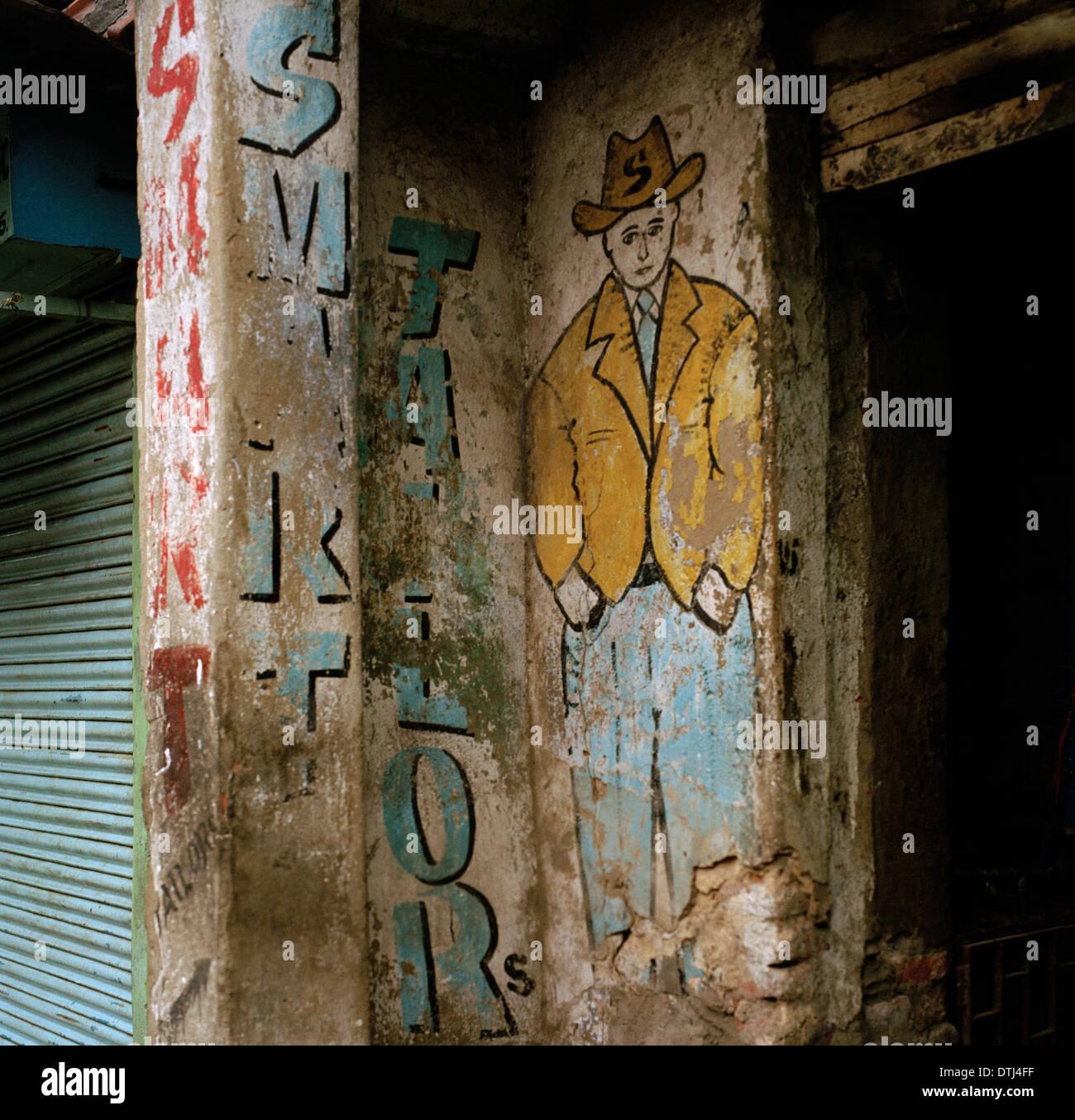 Travel Photography - Tailor in Calcutta Kolkata in West