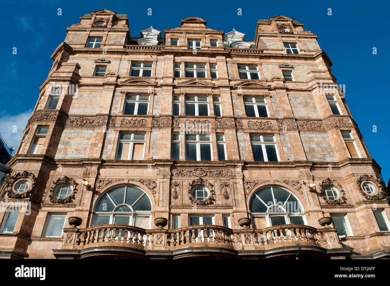 Historic building at Leicester Square, London, Uk - Stock Image