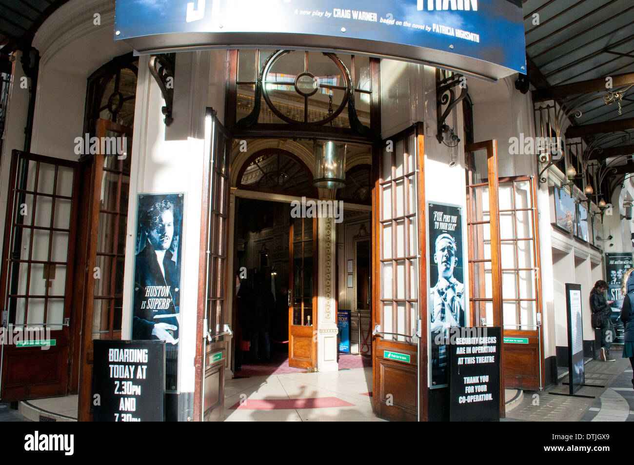 Gielgud theatre in Shaftesbury Avenue, London, WC2, UK - Stock Image