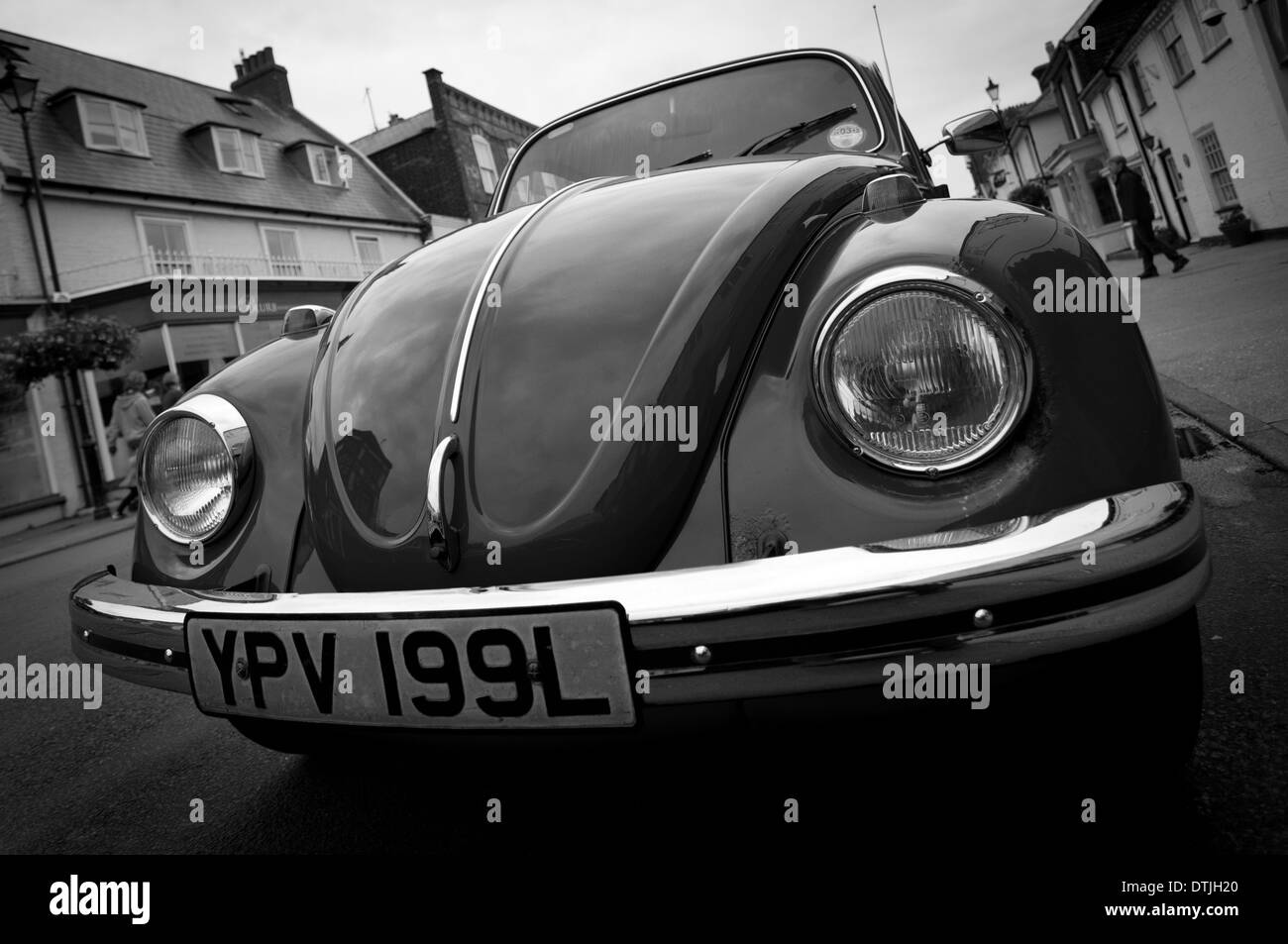 A close up of a VW Beetle - Stock Image
