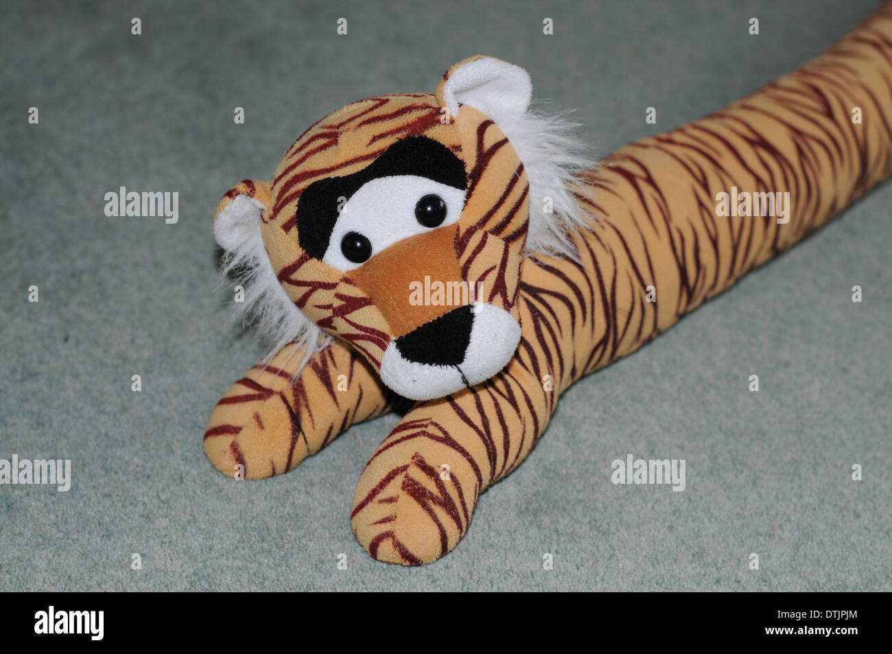 Child's Tiger Toy - Stock Image