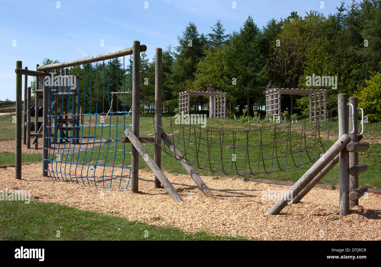 Children\'s Playground ,Outdoor Rope Climbing Frame and cargo nets ...