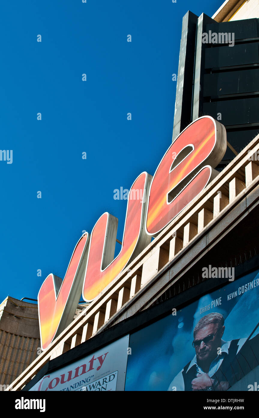 Vue cinema, Leicester Square, London, Uk - Stock Image