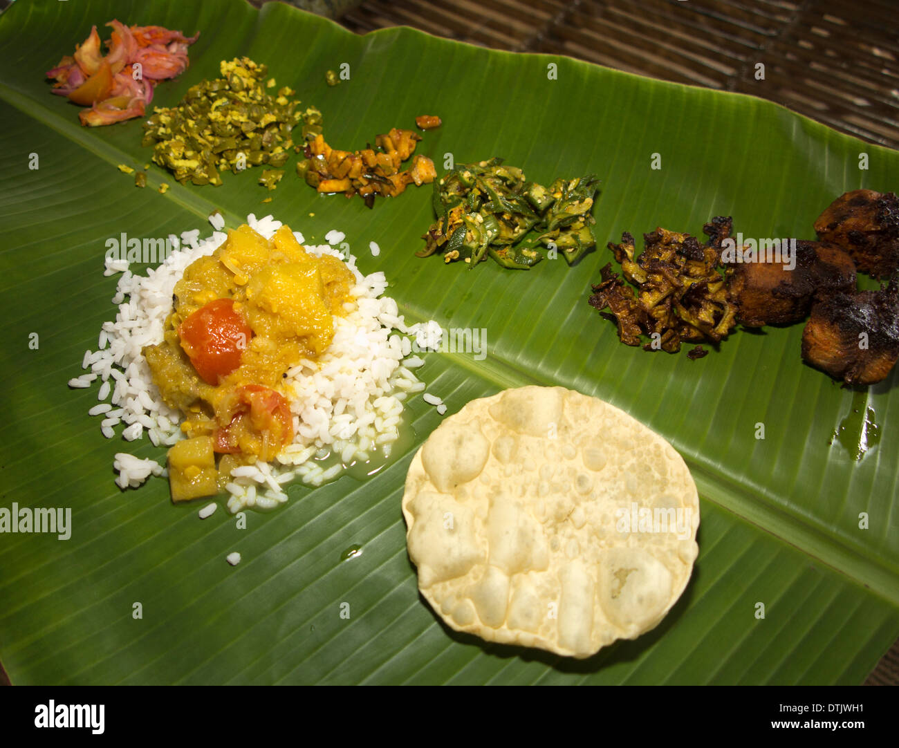 Banana Leaf Indian Food