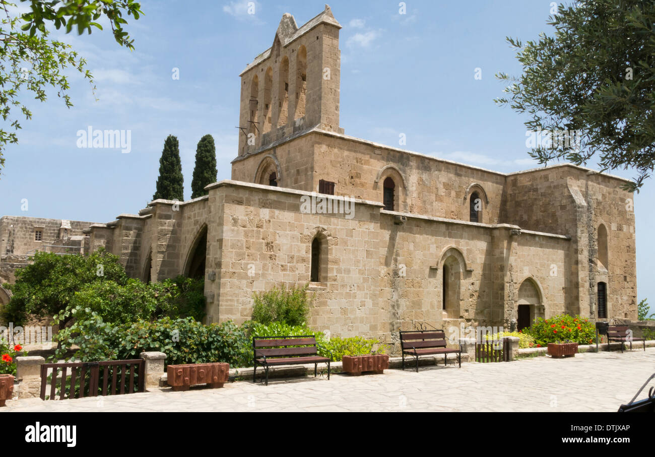Bellapais Abbey Monastery Northern Cyprus - Stock Image