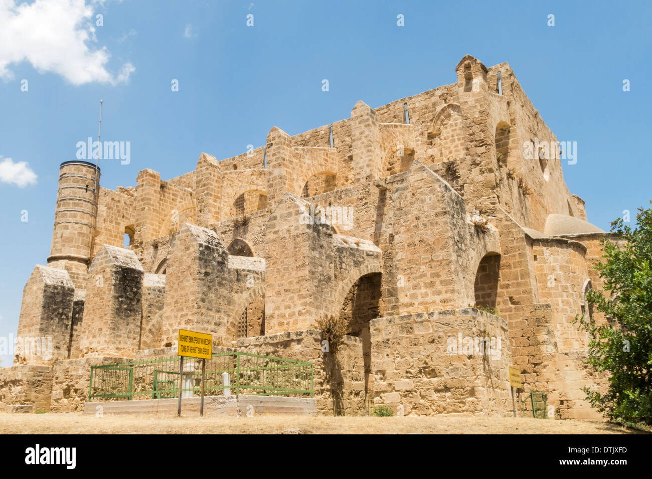 Ruined Tomb of Mehmet Emin Efendi in Famagusta Northern Cyprus - Stock Image