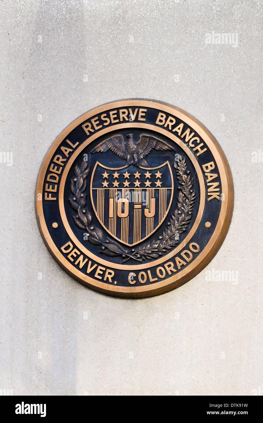 The Federal Reserve Logo Stock Photos The Federal Reserve Logo
