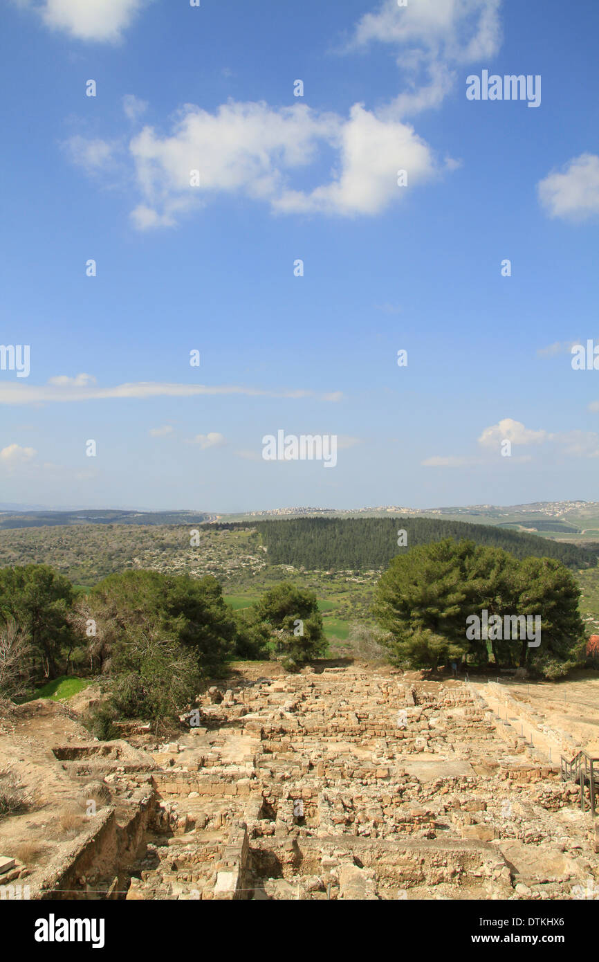 Israel, Zippori in the lower Galilee, dwellings from the Second Temple period till the 6th century Stock Photo