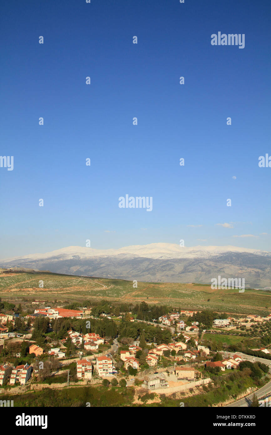 Israel, Upper Galilee, Metula by the Lebanese border Stock Photo