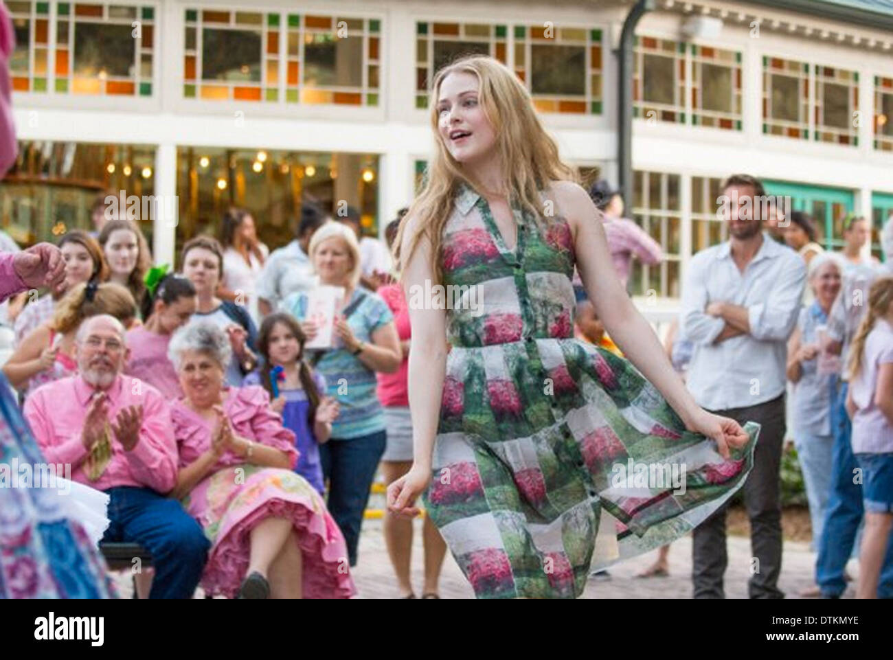 BAREFOOT  2014 Roadside Attractions film with Evan Rachel Wood as Daisy - Stock Image