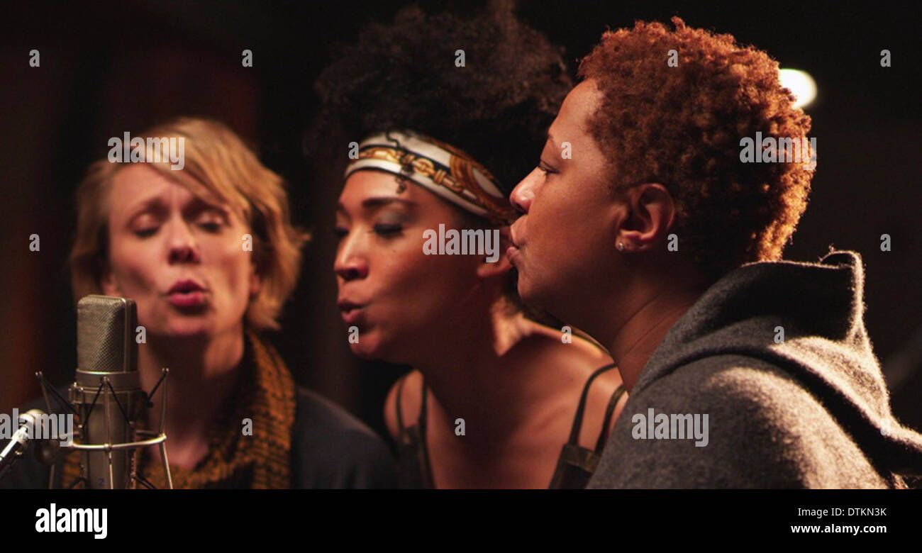 20 FEET FROM STARDOM (aka Twenty Feet From Stardom) 2013 RADiUS-TWC film with Lisa Fischer centre - Stock Image