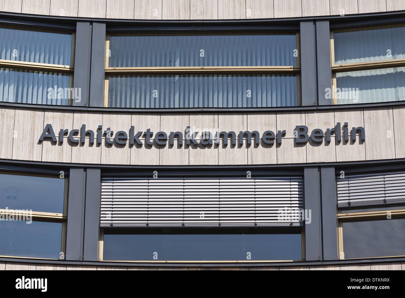 Architektenkammer Berlin Stock Photos Architektenkammer Berlin