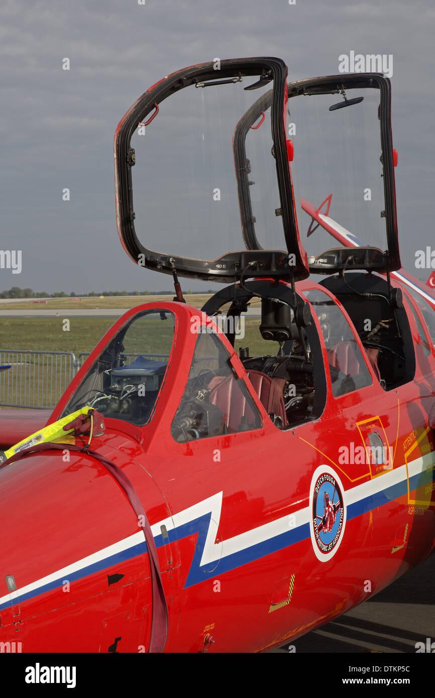 CM - 170 Fouga Magister - Stock Image