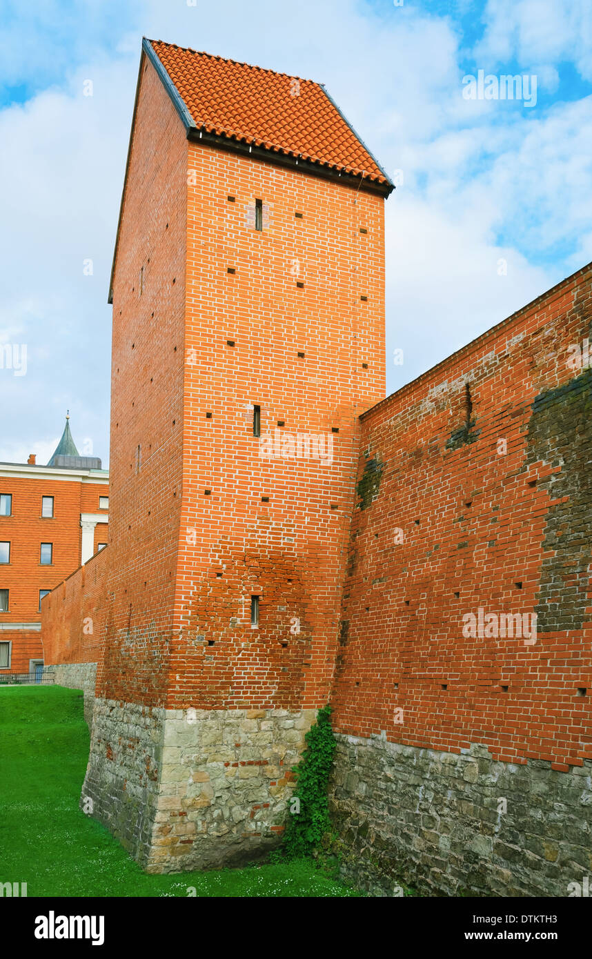 Fortified Wall - Stock Image