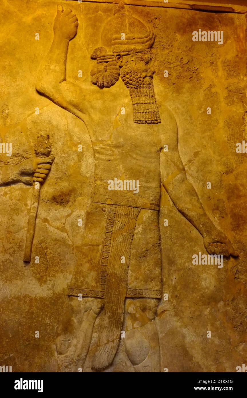 Assyrian Wall Art British Museum Stock Photos & Assyrian Wall Art ...