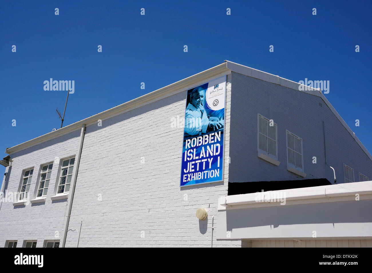 Robben Island Embarkation Building museum,, Jetty 1, Victoria & Alfred Waterfront, Cape Town. - Stock Image